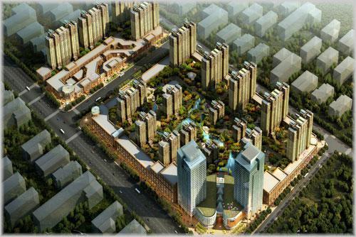 宁晋弘启·名城项目位于邢台市宁晋县县城中心西南位置,建设街与